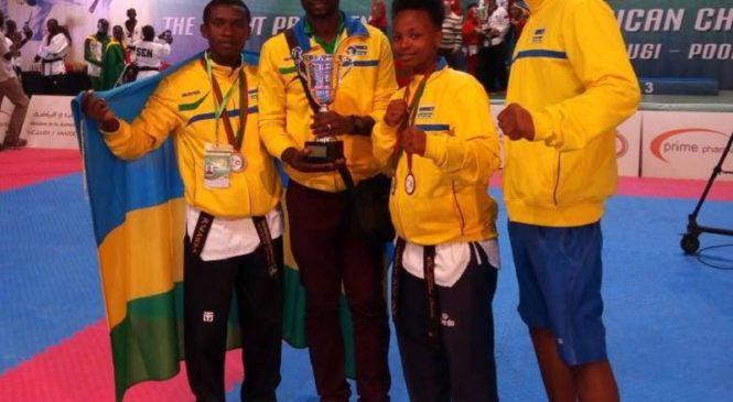 Ikipe y'u Rwanda ya Taekwondo yaserukanye ishema muri Maroc