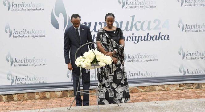 Kwibuka ntibizahagarara, Kwibuka bijyana n'ukuri kandi bikajyana no kubaka igihugu cyacu-Kagame
