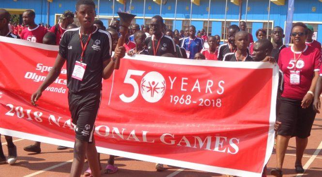 Uko byari byifashe mu kwizihiza isabukuru y'imyaka 50 ya Special Olympics (Amafoto)
