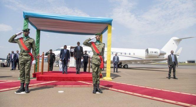 Perezida Kagame yakiriye uwa Mozambique