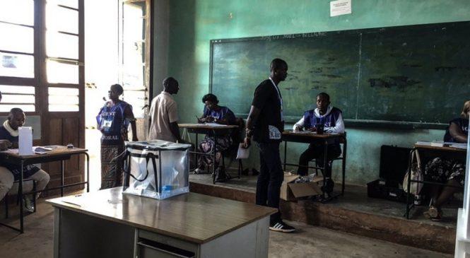Abaturage ba Congo Kinshasa batoye bakoresheje ikoranabuhanga bwa mbere
