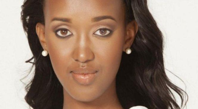Ange Kagame yanenze abatesha agaciro Ikinyarwanda mu marushanwa ya Nyampinga w'u Rwanda
