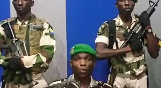 Abasirikare ba Gabon bahiritse Leta