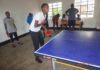 Rilima Table Tennis Club ibangamiwe no kubura ibikoresho no gukinira ahantu hato