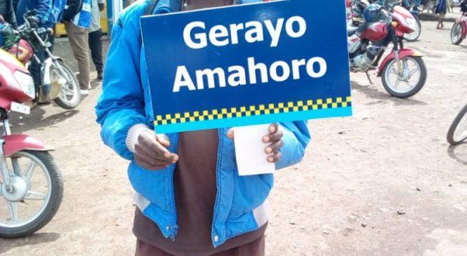 "Rubavu: Polisi yatangije ubukangurambaga bwitwa ""Gerayo Amahoro"""