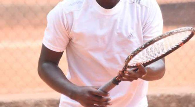 Karenzi yatsinze umukino wa mbere mu irushanwa mpuzamahanga rya Tennis