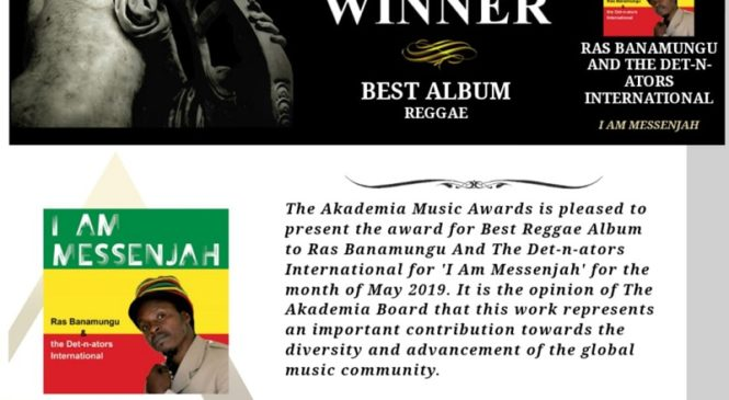 Ras Banamungu's Musical Message of Peace about to Take the World by Storm