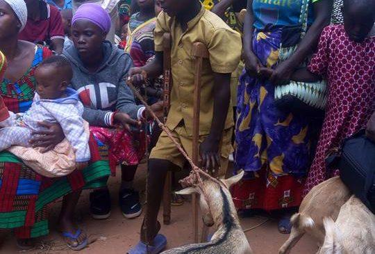 Maraba:Yatangije igikorwa cyo koroza ababyeyi bafite abana bafite ubumuga