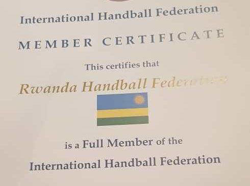Impamvu FERWAHAND yabaye umunyamuryango wemewe w'Ishyirahamwe mpuzamahanga rya Handball