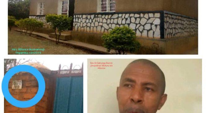 "Aho icyicaro cy'ihuriro ry'amadini ""Alliance Evangelique au Rwanda"" kibarizwa i Ndera hateye agahinda (yavuguruwe)"