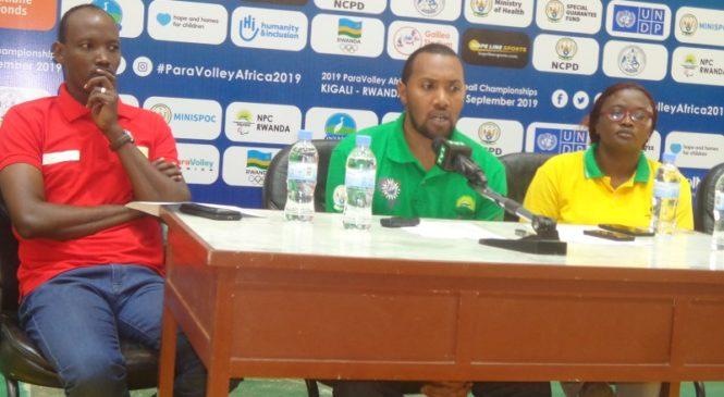 Kigali: Ibihugu 7 muri shampiyona ya Afurika ya Sitting Volleyball