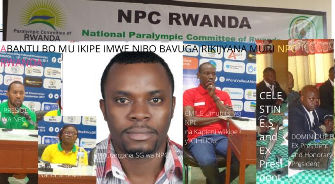NPC Rwanda yahagaritse guhemba amafaranga kuko ikipe abayobozi babarizwamo  itagifite ubushobozi bwo kuba iya mbere?
