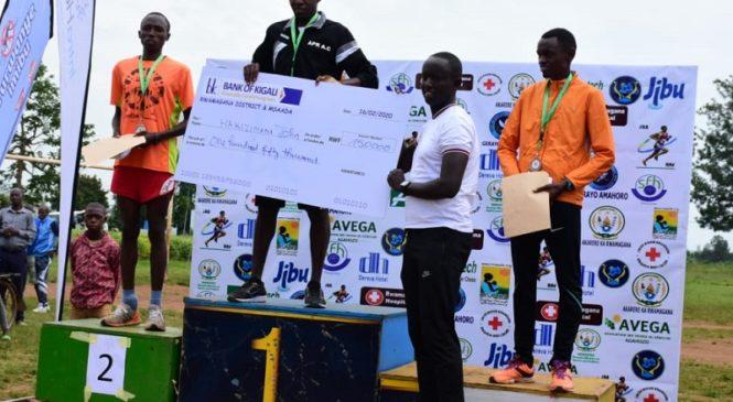 "Abakinnyi ba ""APR Athletics Club"" bitwaye neza muri ""Rwamagana Challenge Marthon 2020"""
