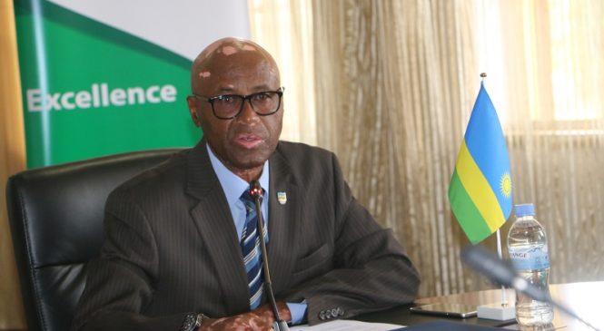 Amb.Munyabagisha Valens yamaze kwegura muri Komite Olempike