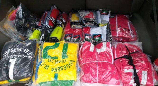 Bugesera Women Football Club yashyikirijwe imyambaro mishya