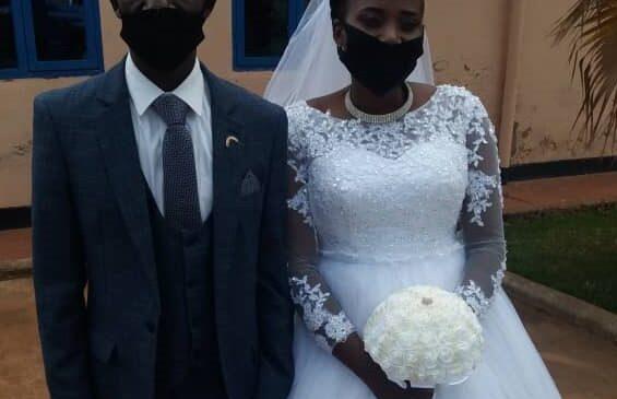 Kajuga Robert wamamaye muri siporo yo gusiganwa ku maguru yakoze ubukwe
