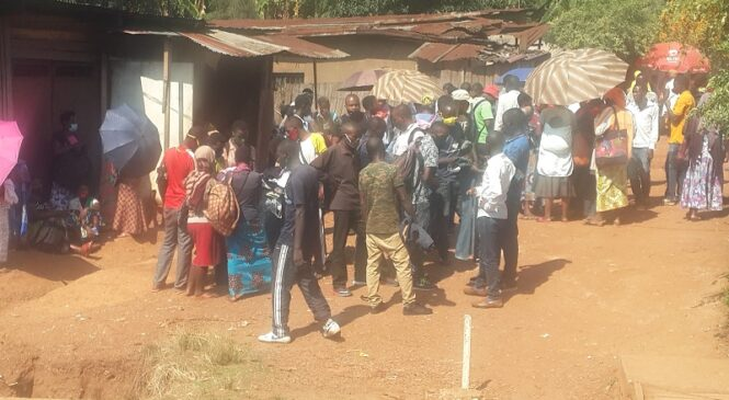 Nyarugenge: Hari abafite ubwoba ko bashobora kwandura Covid-19 mu mubyigano w'abazunguzayi