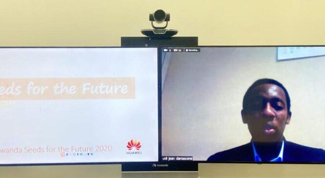 """Huawei yatangije amahugurwa ku Banyarwanda muri gahunda ya """"Seeds for The Future"""" hifashishijwe ikoranabuhanga"""