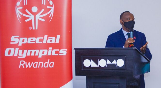 """Special Olympics Rwanda believes that the """"MBZ Unified Champion Schools""""program will have a positive effect"""