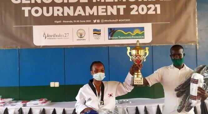 Taekwondo: Dream Fighters TC yegukanye imikino yo Kwibuka ya 2021