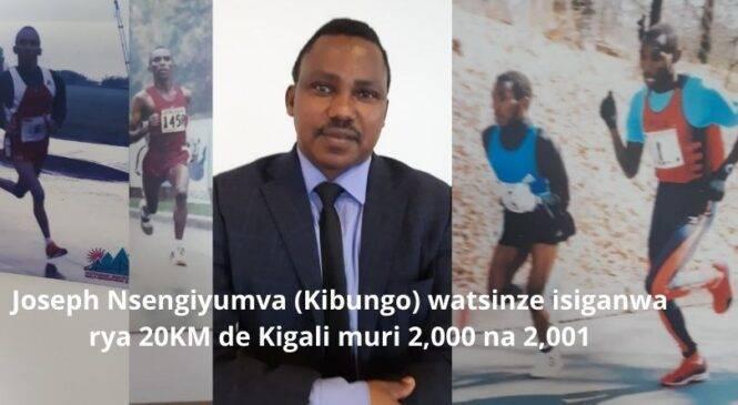 """Isiganwa rya """"20KM de Kigali""""rigaruke nzaritera inkunga-Nsengiyumva Joseph"""