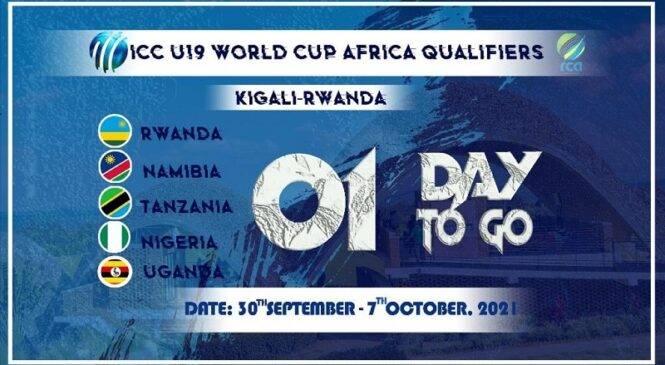 Kigali: Hagiye gutangira amajonjora y'igikombe cy'Isi cya Cricket mu batarengeje imyaka 19