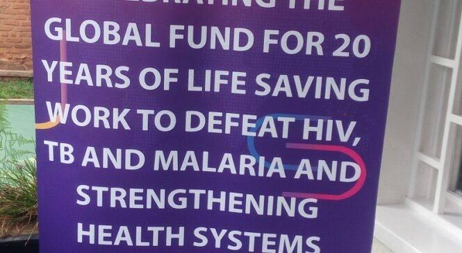 U Rwanda rwakiriye urumuri mu kwizihiza imyaka 20 Global Fund imaze ivutse
