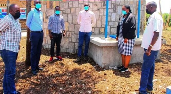 Two varsity students extend clean water to Nyagatare village