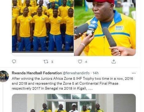 Handball: U Rwanda rugiye kwitabira ku nshuro ya mbere Igikombe cya Afurika, hakenewe ubufasha bw'inzego zishinzwe siporo